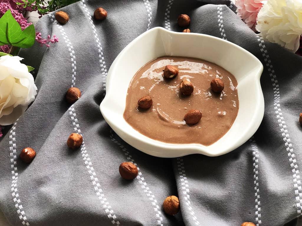 Fit Nutella - gotowe danie