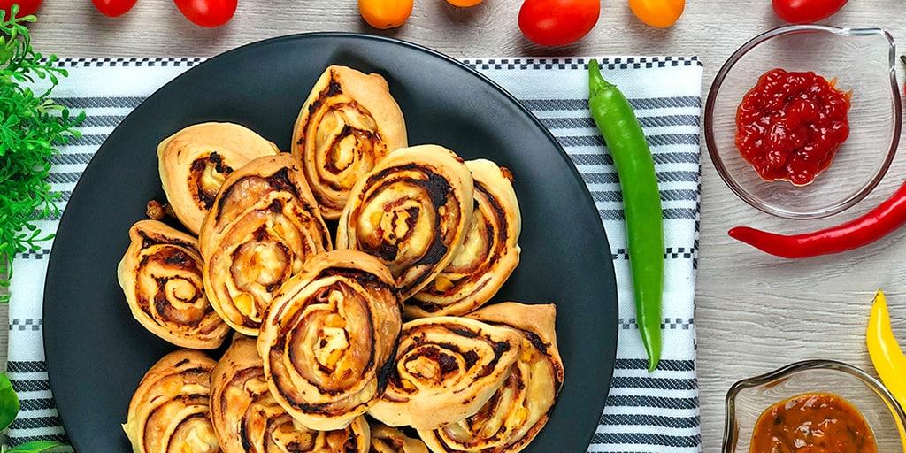 Ślimaki z ciasta francuskiego - propozycja przygotowania