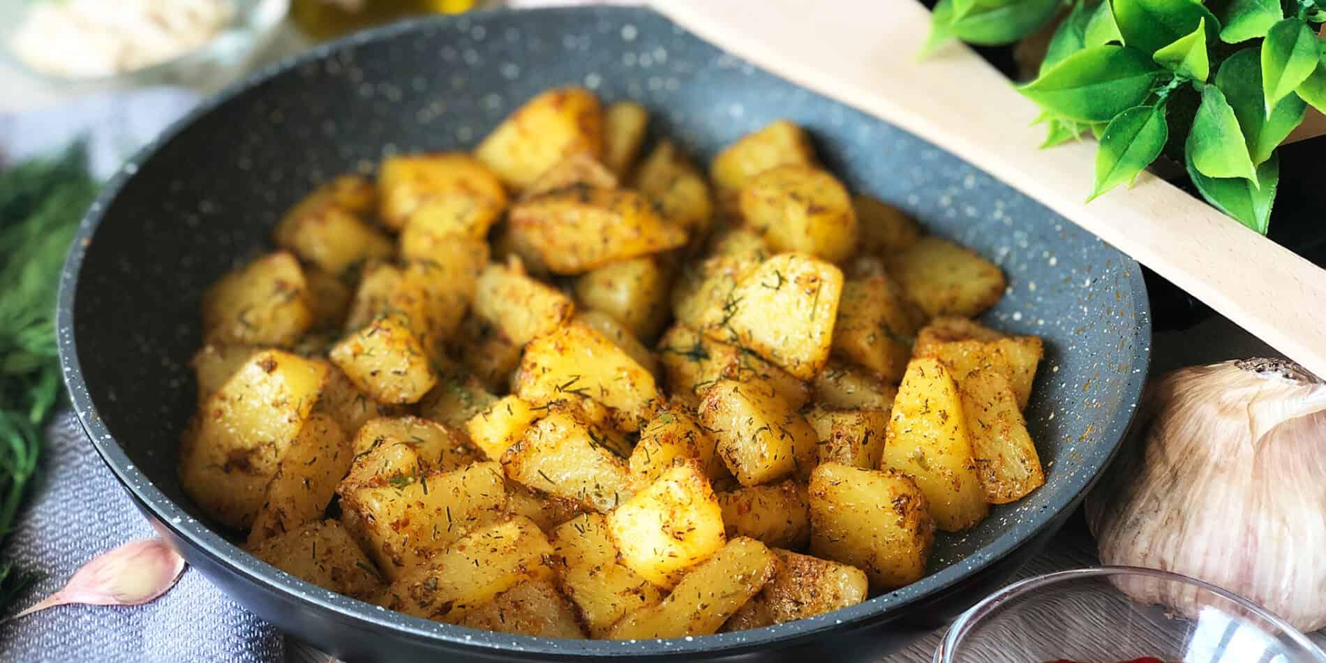 Smażone ziemniaki - propozycja przygotowania