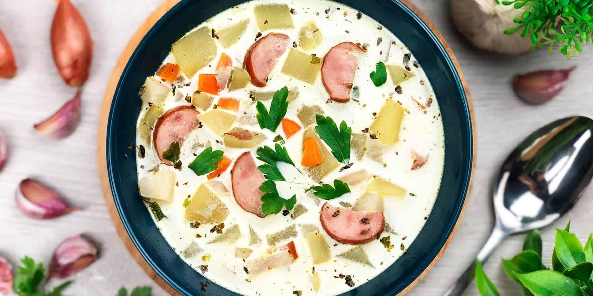 Zupa ziemniaczana - propozycja przygotowania