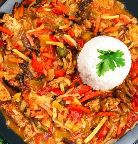 Chińszczyzna curry