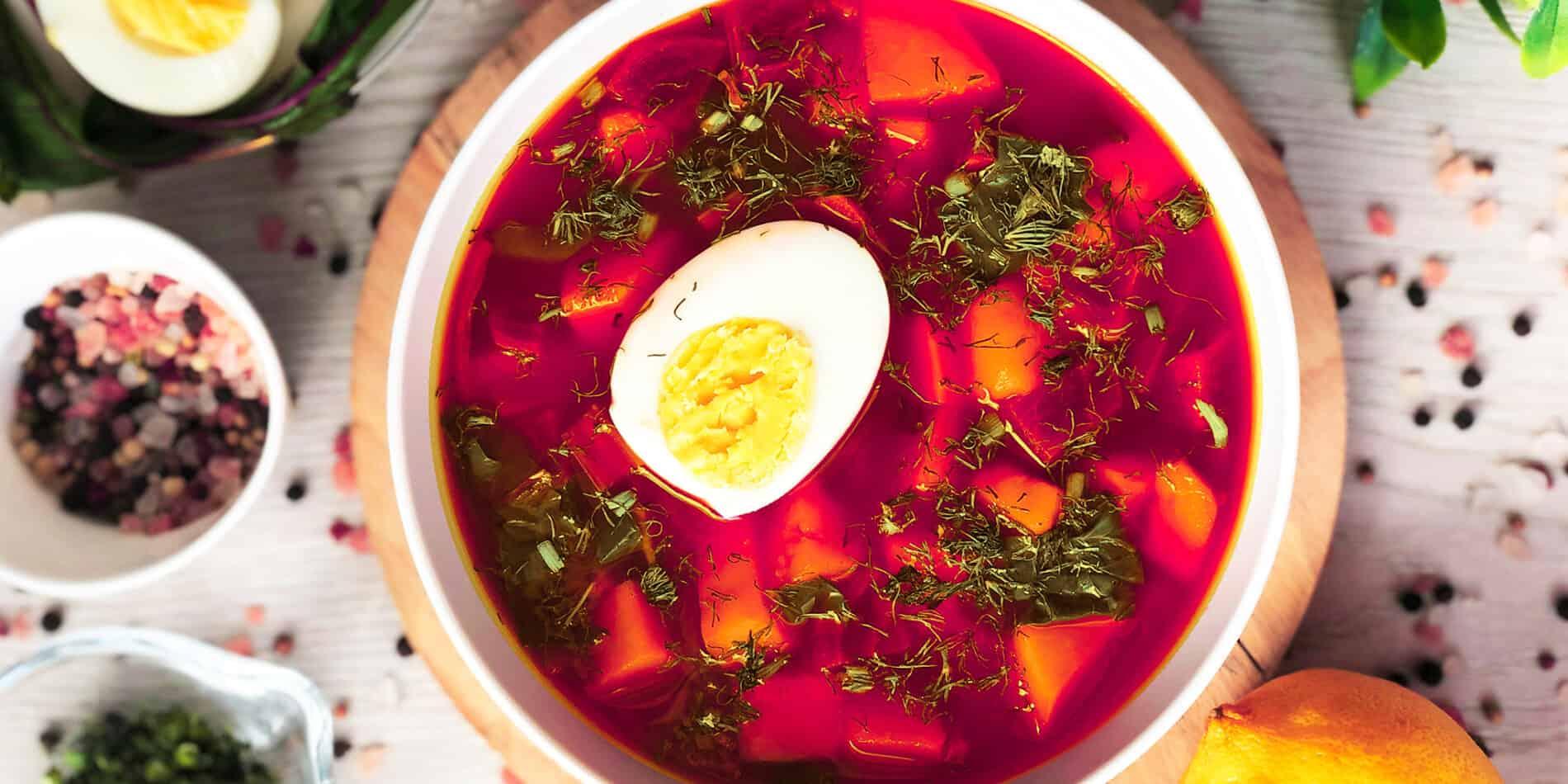 Zupa z botwiny - propozycja przygotowania